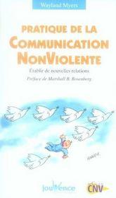 Pratique de la communication non violente ; établir de nouvelles relations - Intérieur - Format classique