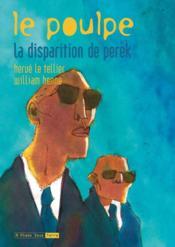 Poulpe 08. La Disparition De Perek (Le) - Couverture - Format classique