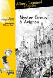 Mystère circus à Avignon - Couverture - Format classique
