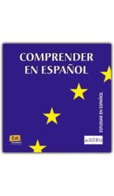 Comprender en espanol cd - Couverture - Format classique