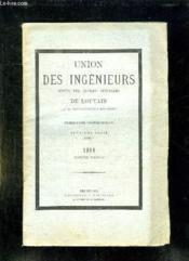 UNION DES INGENIEURS SORTIS DES ECOLES SPECIALES DE LOUVAIN TOME 2em SERIE 1909. - Couverture - Format classique