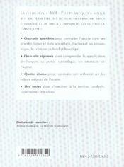 Tite-Live Histoire Romaine Livre Xxx Chapitres 12 A 17 - 4ème de couverture - Format classique