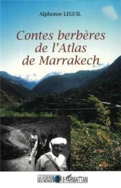 Contes berbères de l'atlas de Marrakech - Couverture - Format classique
