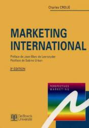 Marketing International - Couverture - Format classique