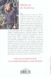 Medecin De Banlieue - 4ème de couverture - Format classique