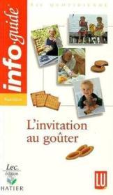 Invitation Au Gouter - Couverture - Format classique