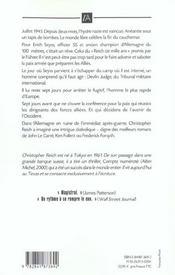 Course Contre La Mort - 4ème de couverture - Format classique