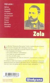 Zola - 4ème de couverture - Format classique