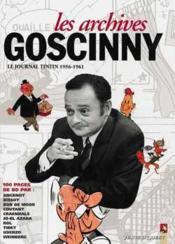 Les archives Goscinny t.1; le journal de Tintin 1956-1961 - Couverture - Format classique