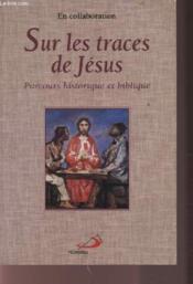 Sur les traces de jesus - Couverture - Format classique