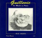 Guillevic Du Menhir Au Poeme Sv T.21 - Couverture - Format classique