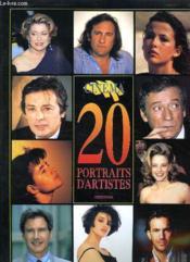 20 Portraits D Artistes. Edition 1994. - Couverture - Format classique