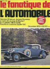 Le Fanatique De L'Automobile N°135 - Special Noël - Couverture - Format classique