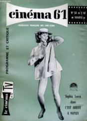 Cinema 61 N° 54 - Dans Ce Numero: Le Jeune Cinema Anglais, Boileau-Narcejac Vous Parlent - Le Cinema D'Amateur - Couverture - Format classique