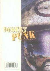 Desert punk t.1 - 4ème de couverture - Format classique