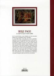 Belle page t.1; yann arthus bertrand - 4ème de couverture - Format classique
