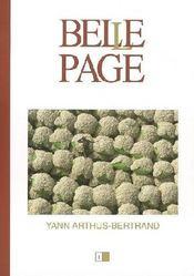 Belle page t.1; yann arthus bertrand - Couverture - Format classique