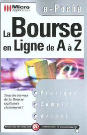 La Bourse En Ligne De A A Z - Intérieur - Format classique