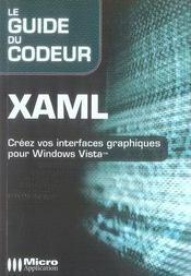 Xaml - Intérieur - Format classique