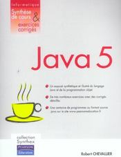 Java 5 synthex  - Robert Chevallier