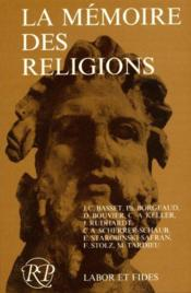 La Memoire Des Religions - Couverture - Format classique