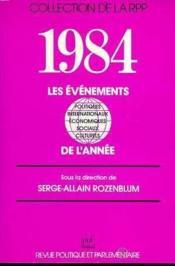Les 1984 evenements de l'annee - Couverture - Format classique