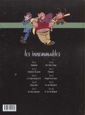 Les innommables t.10 ; à l'est de Roswell - 4ème de couverture - Format classique