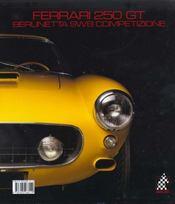 Ferrari 250 Gt Berlinetta (N 12) - 4ème de couverture - Format classique