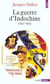 Vente  La guerre d'indochine (1945-1954)  - Jacques Dalloz