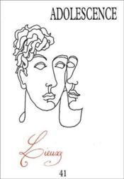 Revue Adolescence N.41 - Couverture - Format classique