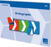Orthographe ; CM1 - Couverture - Format classique