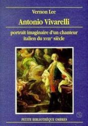 Antonio Vivarelli - Couverture - Format classique
