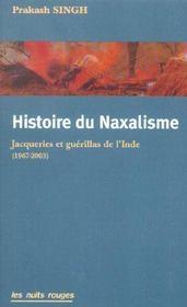Histoire du naxalisme - Intérieur - Format classique