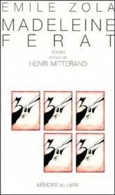 Madeleine Ferat - Couverture - Format classique
