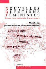 Revue Nouvelles Questions Feministes N.26/1 ; Migrations ; Genre Et Frontières, Frontières De Genre - Intérieur - Format classique