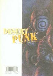 Desert punk t.3 - 4ème de couverture - Format classique