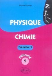 Physique chimie ; 1ère s niveau 2 - Intérieur - Format classique