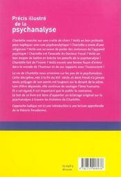 Precis illustre de la psychanalyse - 4ème de couverture - Format classique