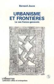Urbanisme & Frontieres - Couverture - Format classique