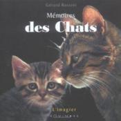 Mémoires des chats - Couverture - Format classique