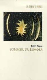 Sommeil Du Mimosa - Couverture - Format classique