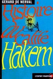 Histoire du calife Hakem - Couverture - Format classique