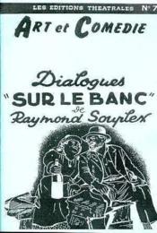 N.77 ; dialogues sur le banc - Couverture - Format classique