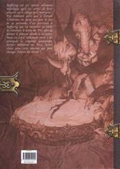 Bafflerog Le Sorcier T.1 ; Le Grand Voyage - 4ème de couverture - Format classique