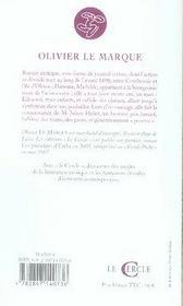Le Journal De Mathilde - 4ème de couverture - Format classique