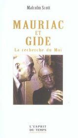 Mauriac Et Gide - Intérieur - Format classique