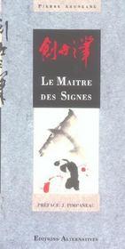 Le Maitre Des Signes - Intérieur - Format classique