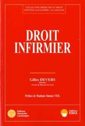 Droit Infirmier - Couverture - Format classique