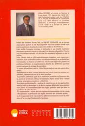 Droit Infirmier - 4ème de couverture - Format classique