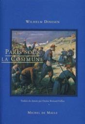 Paris sous la Commune - Couverture - Format classique